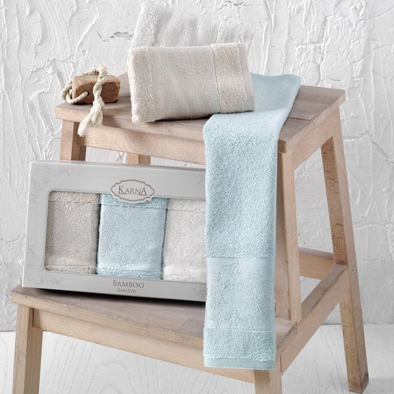 Комплект салфеток из бамбука Pandora 30х50 3 штуки V2