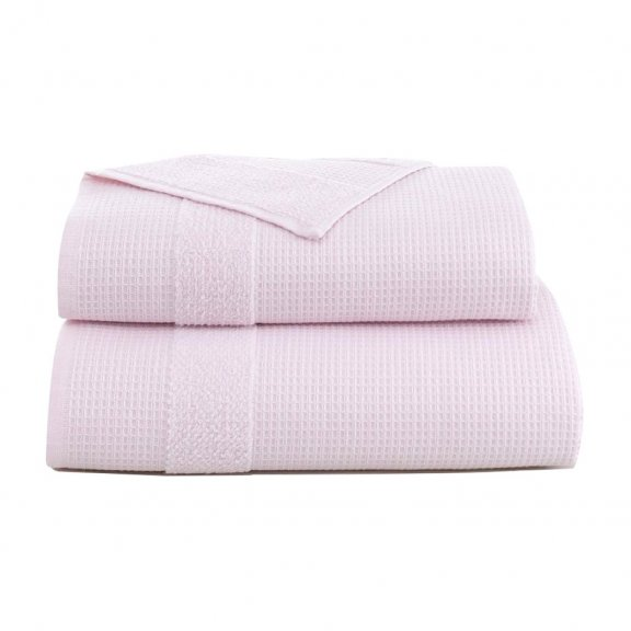 Полотенце Микрокоттон Karna Truva 50x100 - Светло-розовое