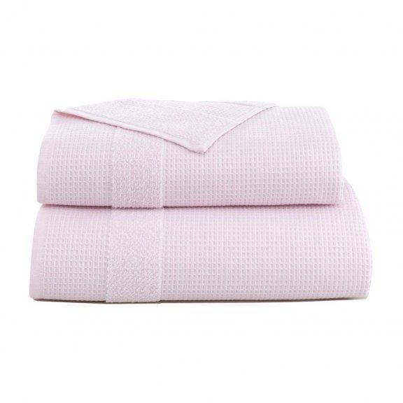 Полотенце Микрокоттон Karna Truva 70x140 - Светло-розовое