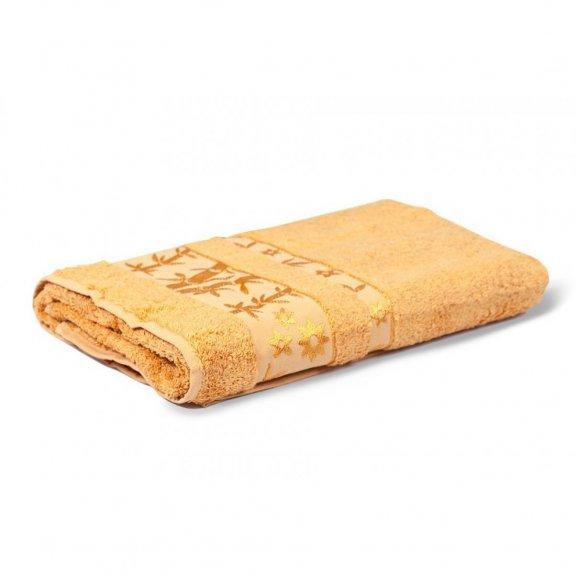 Бамбуковые полотенца 90x150 Pupilla Elit - Золотистое