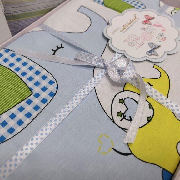 Комплект детского белья для мальчика Istanbul - Happy Blue