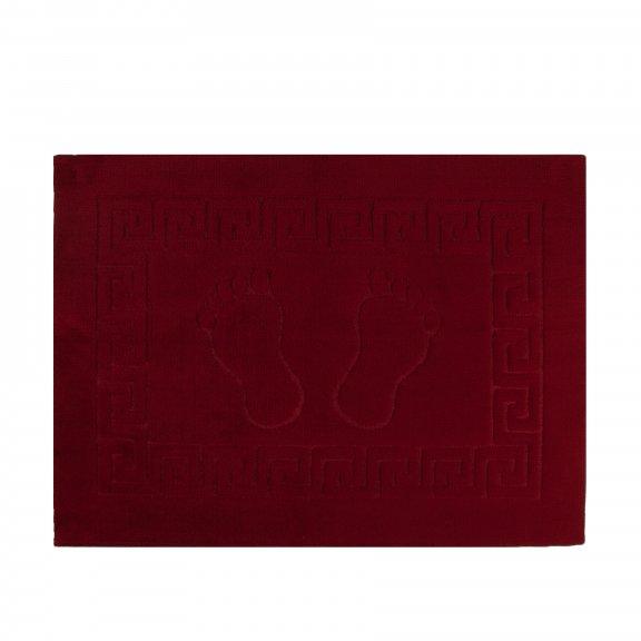 Коврик для ванной Karna 50х70 - Бордовый
