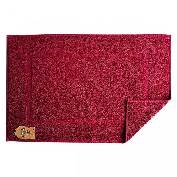 Полотенце для ног Gren - Бордовый 50x70