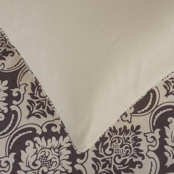 Постельное белье Karteks сатин цветной с окантовкой двуспальное - SOK018