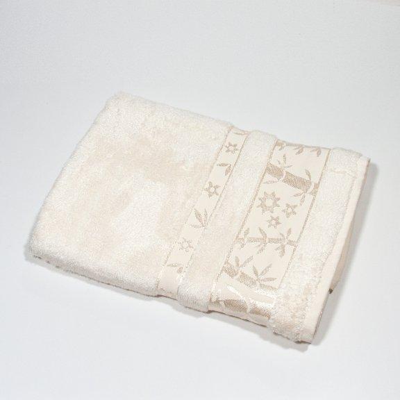 Бамбуковое полотенце Турция Passionesa Aura 70x140 - Кремовый