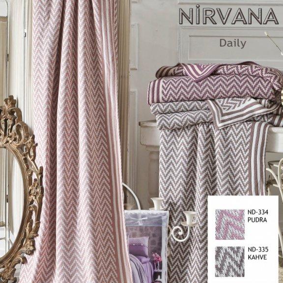Вязанный плед First Choice Nirvana Daily Кофейный