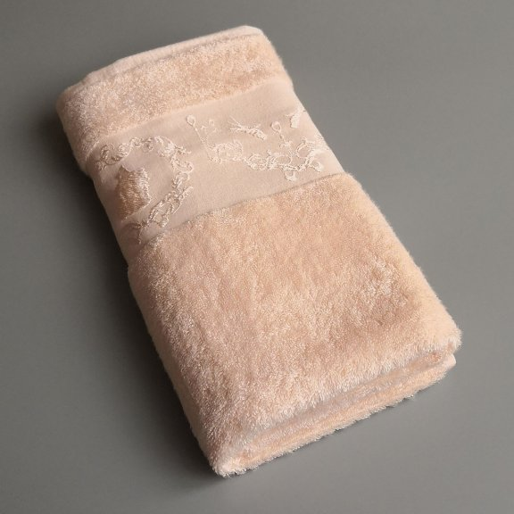 Бамбуковое полотенце Турция Passionesa Madam 70x140 - Абрикосовое