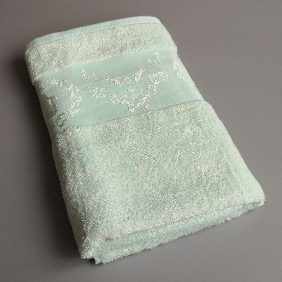 Бамбуковое полотенце Турция Passionesa Madam 70x140 - Ментол