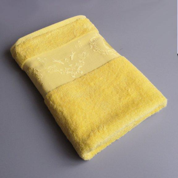 Бамбуковое полотенце Турция Passionesa Madam 70x140 - Лимон