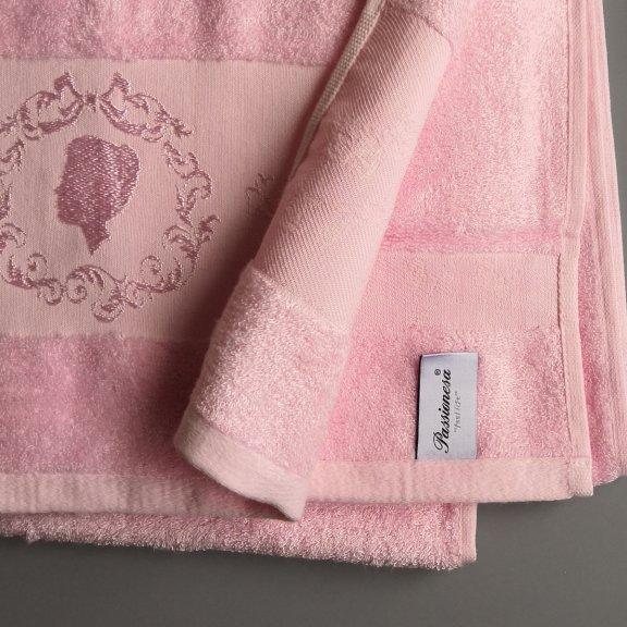 Бамбуковое полотенце Турция Passionesa Madam 70x140 - Розовое