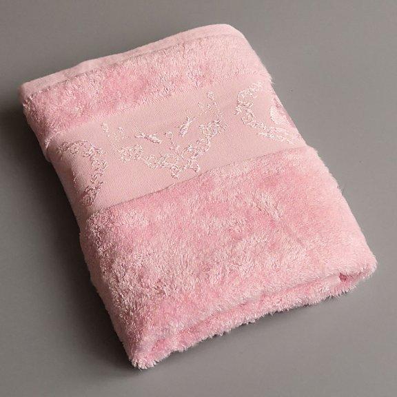 Бамбуковое полотенце Турция Passionesa Madam 50x90 - Розовый