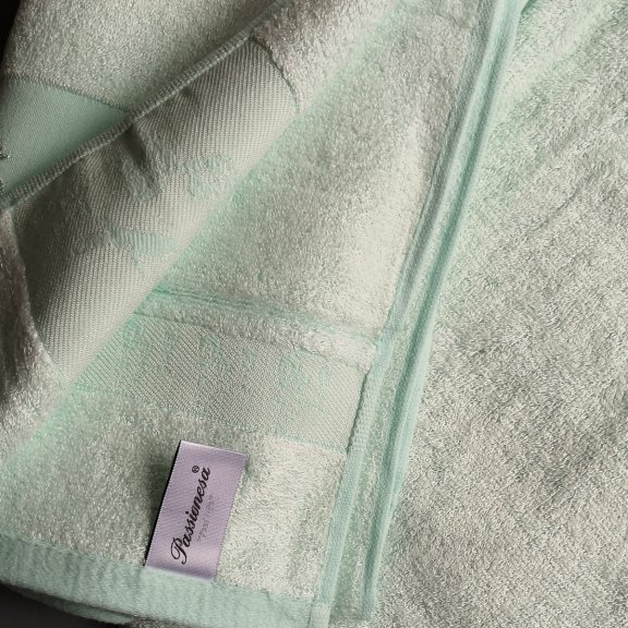 Бамбуковое полотенце Турция Passionesa Madam 50x90 - Ментол