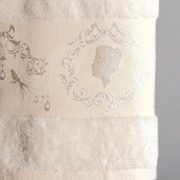Бамбуковое полотенце Турция Passionesa Madam 50x90 - Кремовое