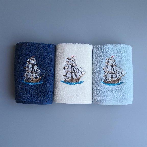 Полотенца махровые Bella Carine 30x50 - Морская серия