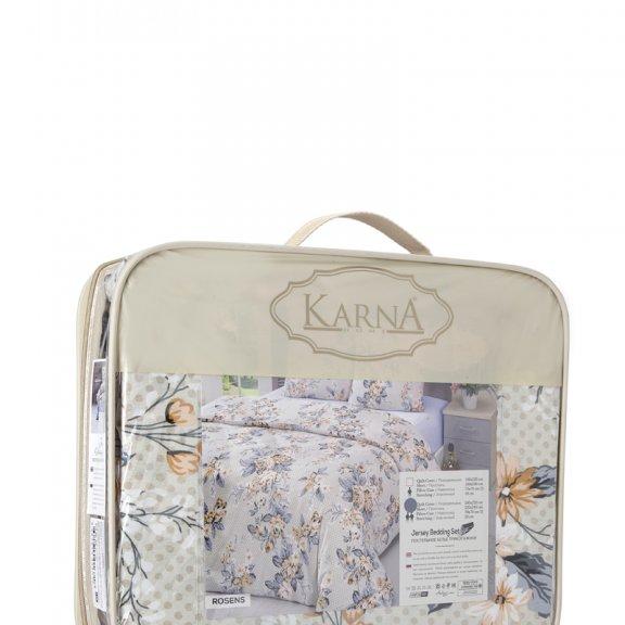 Постельное белье Karna трикотажное Евро ROSSENS