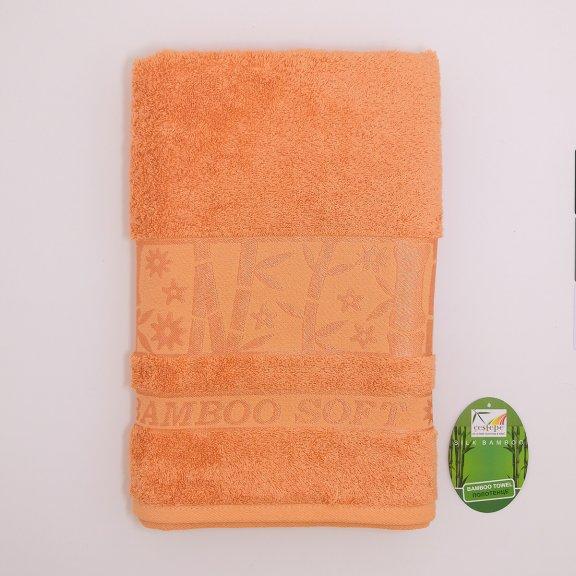 Бамбуковое полотенце Турция Cestepe Agaс - 70x140 - Абрикосовое