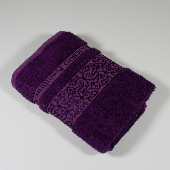 Бамбуковое полотенце Турция Cestepe  Premium 50x90 - Фиолетовый