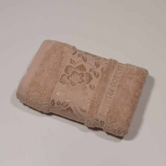 Бамбуковое полотенце Турция Cestepe  Premium 50x90 - Бежевый