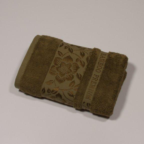 Бамбуковое полотенце Турция Cestepe  Premium 50x90 - Зеленый