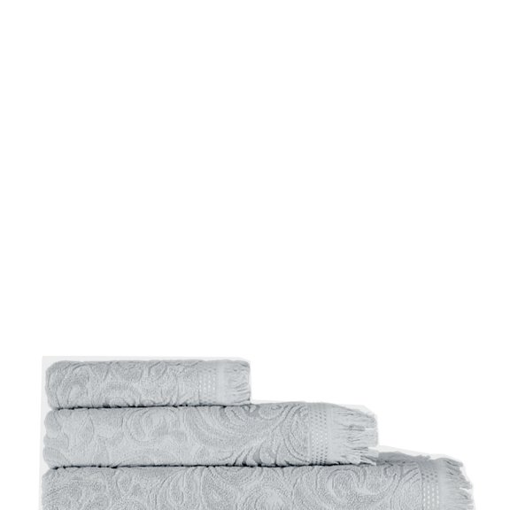 Полотенце махровое KARNA ESRA (50х90) см - Серый