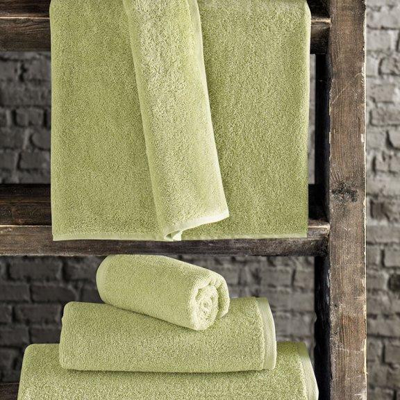 Полотенце махровое KARNA EFOR 420 гр (50х100) см - Зеленый
