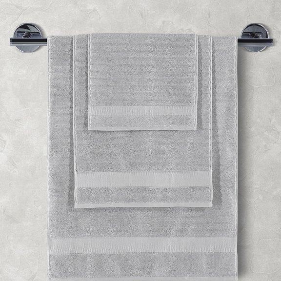 Полотенца махровое KARNA FLOW 70х140 см - Серый