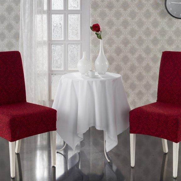 Чехлы на стулья KARNA MILANO - Бордовый