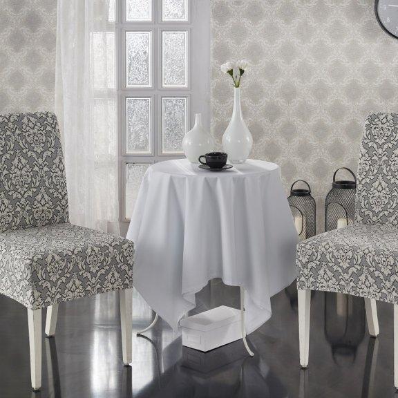 Чехлы на стулья KARNA MILANO - Натурал