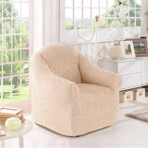 Чехол на кресло Karna - Натуральный